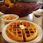 Who doesn't like daily waffles? Great job from the staff at Hampton Inn Atlanta Airport!