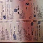 the menu page 2