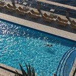 The amazing pool setting