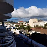 View of Ponta Delgada from Balcony