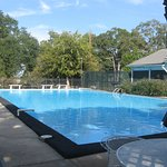 Swimming pool on the grounds of Stanton Hall
