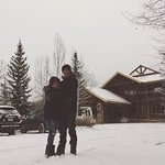 It was my husband first time in the snow. We could spend all of our time in the hotel. Great ser