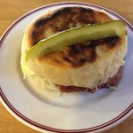 reuben on bannock bread