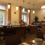 Frühstücksraum/-buffet