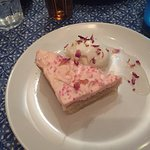 Rose Cake & Ice Cream - Dessert for £12:95 Set Menu - Very Nice