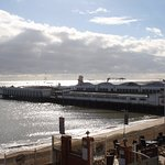 View of Clacton Pier from the room