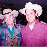 the late and great Doug Salm at Broken Spoke