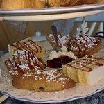Superb scones and cakes