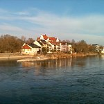 Great views of the historic Danube from the bridge
