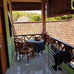 Verandah upstairs