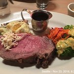Prime rib at Sharp's. Very tasty!