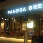 Panera Bread at night