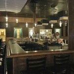 Voici le bar forum de l'autre coter du restaurant, vous pouvez aussi manger avec une belle ambia