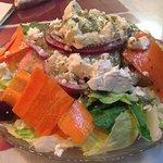Greek salad. That dressing! That feta!