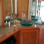 Master Bathroom Sink in Private Garden Villa