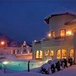 Forster´s Naturresort im Winter mit beheiztem Außenpool