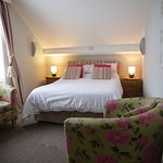 room 23 double with en suite bath and shower 3rd Floor