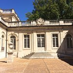 Musee Calvet - the entrance courtyard