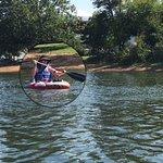 River floating