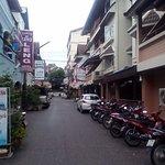 Отельная улочка