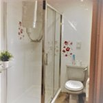 Room 2 shower room with large 1200 x 900 shower