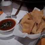 complimentary salsa and chips