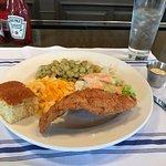 Catfish Blue Plate