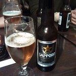 Light beer Sapporo