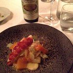 Lobster in combination with Riesling Spatelese