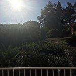 """Vue de notre balcon """"côté nature"""""""