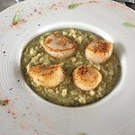 Risotto aux saints jacques