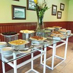 The desert area of the buffet - all VERY SWEET