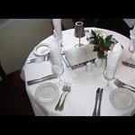 Table decorated well just for your best experience here