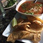 Sopa de Camarones Shrimp soup