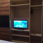 Small TV & big wardrobe