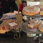 Delicious baked goods at the Brass Compass