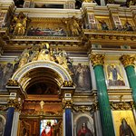 Inside St. Isaac's cathedral