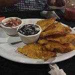 Fried plaintains - so good!