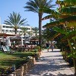 Athene Beach, gardens and promenade