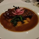 Short rib special $29.95 on a bed of broccoli rabe and butter nut squash puree! YUM!