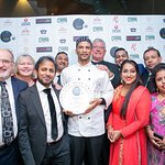 """WINNER  """"CURRY LIFE BEST CHEF AWARD 2016""""  Our award winning chef Akhtar Hussain is receiving aw"""