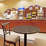 Enjoy A Free Hot Breakfast Buffet Each Morning