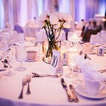 Blue & Purple Wedding - Park Plaza Bloomington