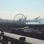 That's the big Ferris wheel they have in Seattle.