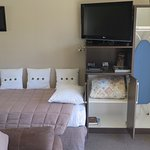 Wardrobe, TV & Ironing board