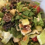 Amazing salads I created my own - my son lives in area and has been here many times. Fantastic!
