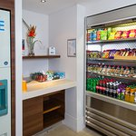 Vending facilities are located on our Ground Floor