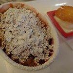 rhubarb & apple pie...