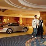 Luxury hotel garage
