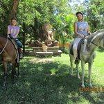 near the ranch